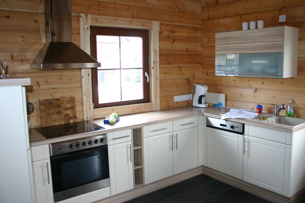 Einbauküche weiße Front