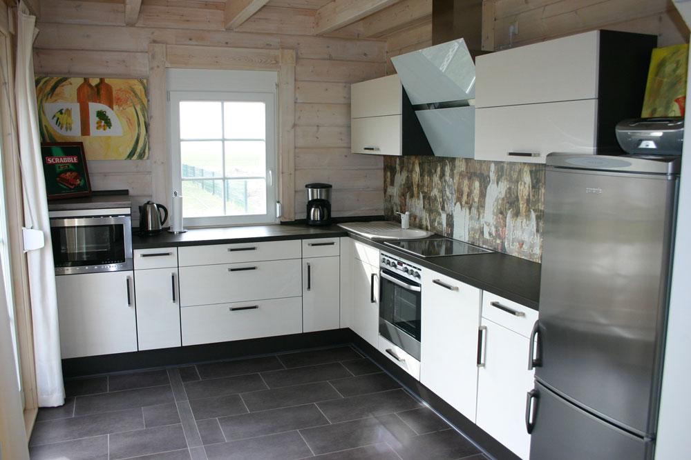 L-Küche weiß