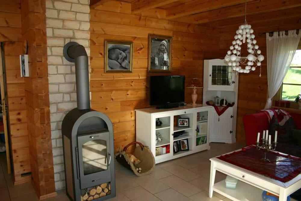 die inneneinrichtung eines holzhauses die nat rlichkeit. Black Bedroom Furniture Sets. Home Design Ideas