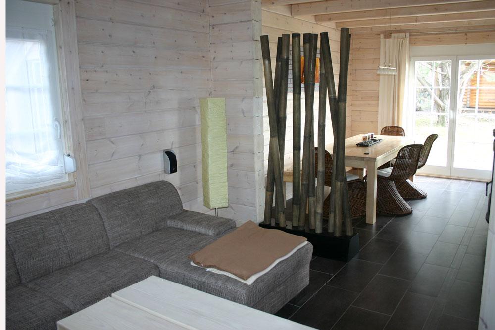 Wohnzimmer weiß gekalkt